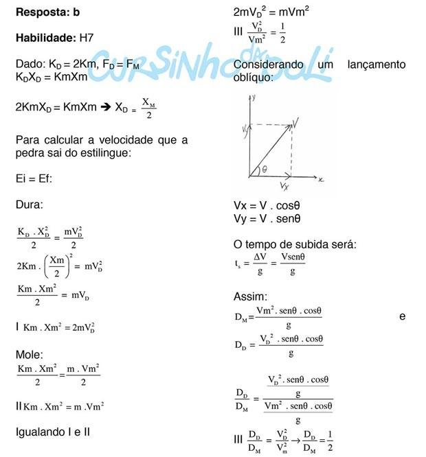 Estilingue (1º Dia - 70 da Prova Azul) (Foto: Reprodução/Cursinho da Poli)