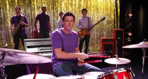 Cory Monteith em 'Glee' (Foto: Reprodução)