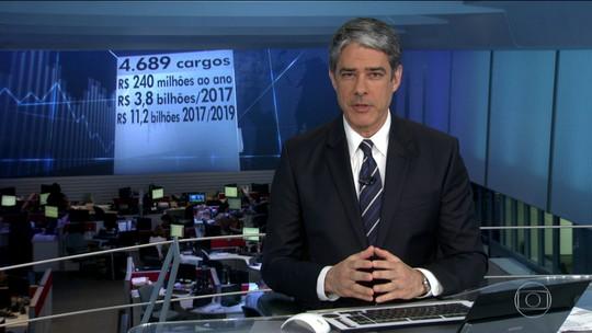 Governo vai extinguir 4,6 mil cargos e funções de confiança até julho