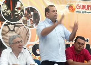 Wilson Castilho presidente do Gurupi (Foto: Jeeferson Ferrari/Secom)