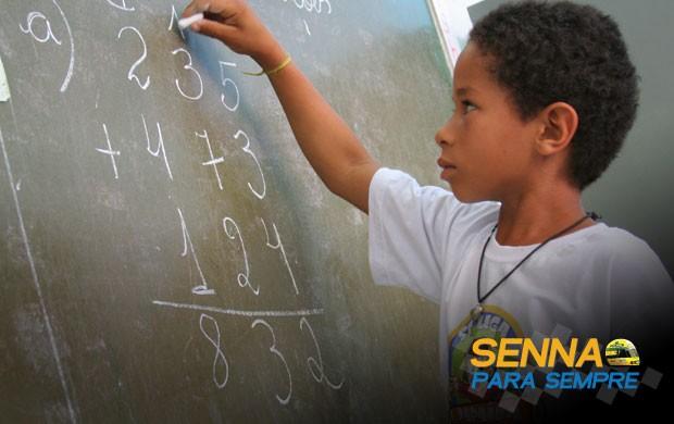 na ponta do lápis (Fábio Corrêa/Instituto Ayrton Senna)