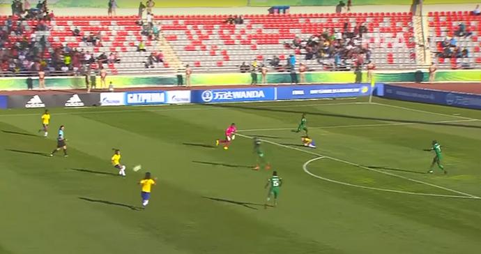Micaelly Mundial feminino sub-17 Brasil seleção brasileira (Foto: Reprodução/Youtube)