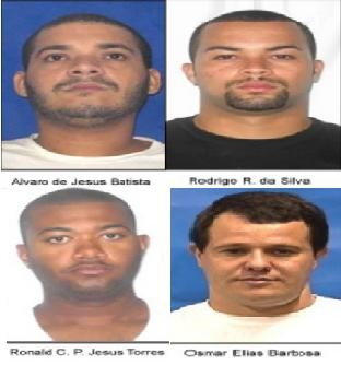 sequestradores (Foto: Divulgação/ Polícia Civil)