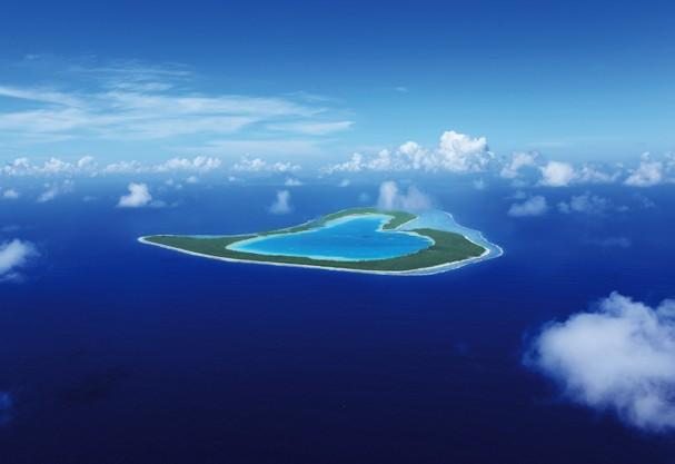 Nada como ir pra Bora-Bora em uma ilha linda dessas (Foto: Divulgação)