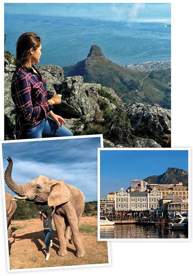 Num bondinho que gira 360°, suba a Table Mountain e veja uma das paisagens mais lindas da Terra. Mas chegue entre 8h e 9h: depois, as  filas ficam gigas. Buffelsdrift Game Lodge Dê uma escapada até essa reserva (a 4h30 de Cape Town) e caminhe com elefantes (por R$ 180). O shopping Victoria & Alfred Waterfront conta com grifes internacionais e locais, lojas de artesanato, restôs, bares, feira e diversão dia e noite. (Foto: .)