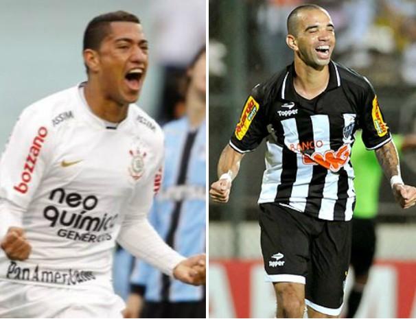 Corinthians enfrenta o Atlético-MG nesta quarta-feira. (Foto: Montagem / Globoesporte.com)