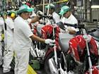 Produção de motos cai 32,2% em setembro, diz Abraciclo