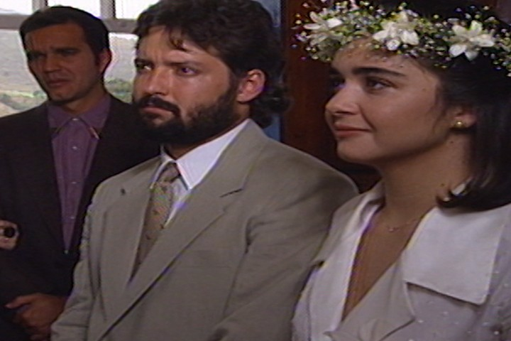 Carola e Z Luiz se casam (Foto: reproduo/viva)