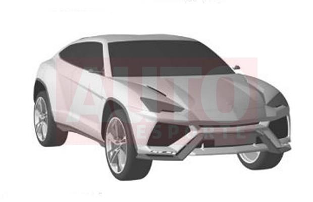 Patente do Lamborghini Urus (Foto: Reprodução)