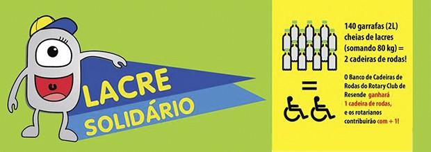 Lacre Solidário (Foto: Associação Educacional Dom Bosco)