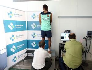 Neymar exame médico Barcelona (Foto:  MIGUEL RUIZ/FCB)