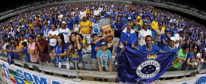 Mineirão torcida Cruzeiro (Foto: Washington Alves/Light Press)