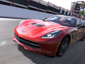 Corvette Stingray estará disponível gratuitamente no game 'Gran Turismo 5' (Foto: Divulgação)