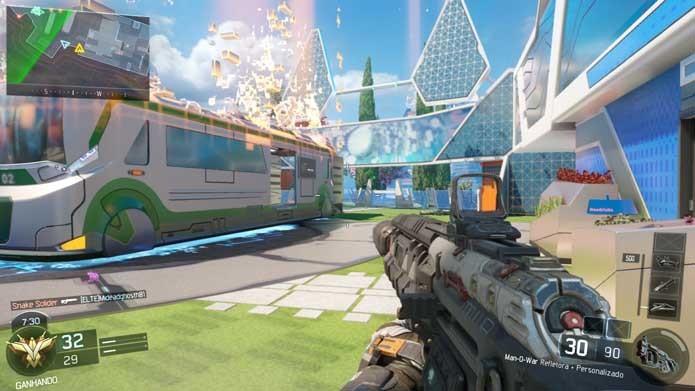 Call of Duty: Black Ops 3: modo online tem mapas mais simples (Foto: Reprodução/Murilo Molina)