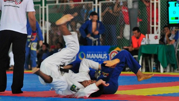 Jiu-jitsu Amazonas Copa Osvaldo Alves (Foto: Antônio Lima/Semdej)