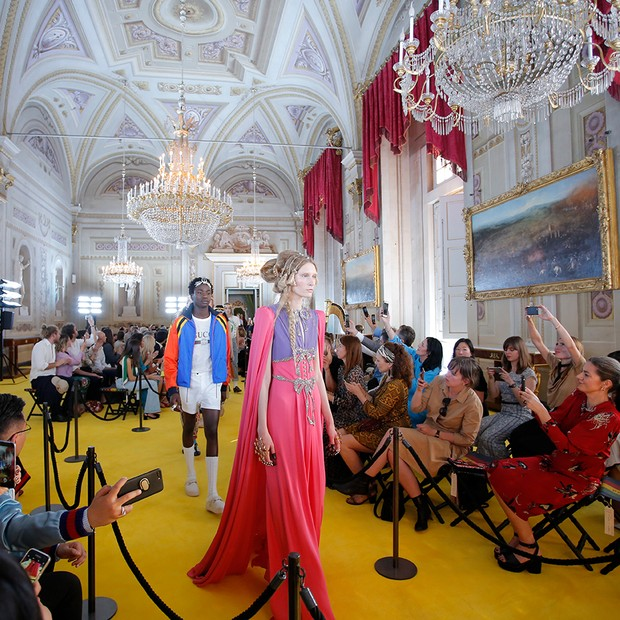 Gucci Cruise 2018, held in the Palatine Gallery of the Pitti Palace (Foto: COURTESY OF GETTY IMAGES FOR GUCCI)