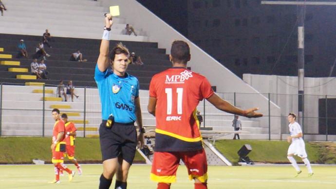 Caio Max Augusto Vieira, árbitro potiguar (Foto: Augusto Gomes)