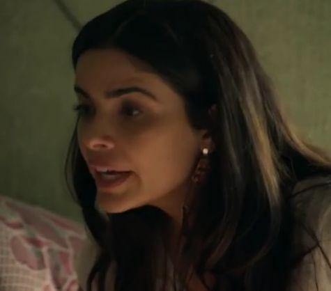 Vanessa Giácomo em cena como Toia (Foto: Reprodução)