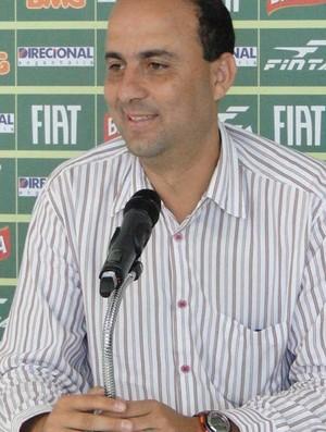 Jair Albano Félix gerente de futebol do América-MG (Foto: Leonardo Simonini / Globoesporte.com)
