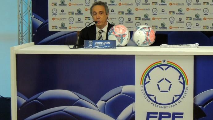 evandro carvalho federação pernambucana de futebol (Foto: e)