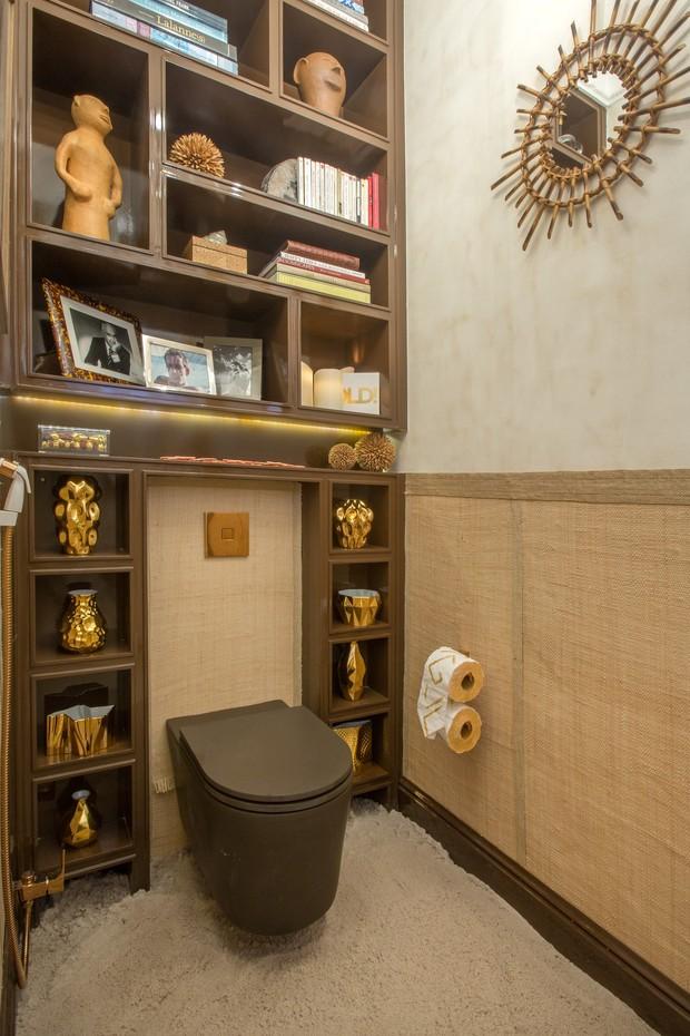 Jean de Just decorou o lavabo da Casa Cor 2016, na Gávea (Foto: Divulgação )