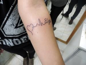 G1 Com Tatuagens Filhos Marcam Na Pele O Amor Pelas Mães