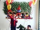 Ex-BBB Priscila Pires comemora o aniversário do filho mais velho