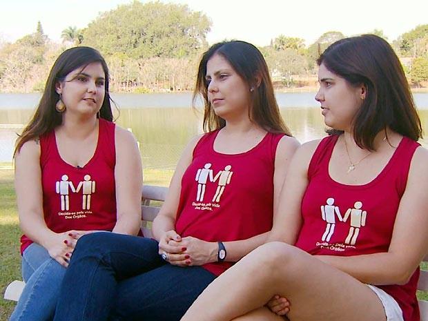 Irmãs que receberam transplante de fígado continuam ajudando outros pacientes na região de Campinas  (Foto: Reprodução EPTV)