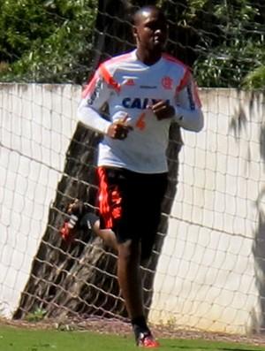 Samir Flamengo treino (Foto: Thales Soares)