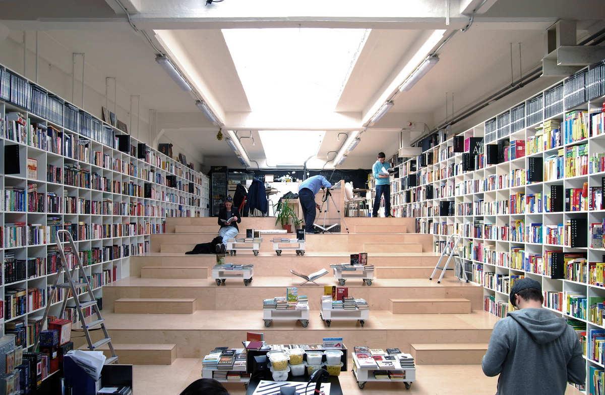 Plural Bookshop - Bratislava, Eslováquia (Foto: Reprodução)