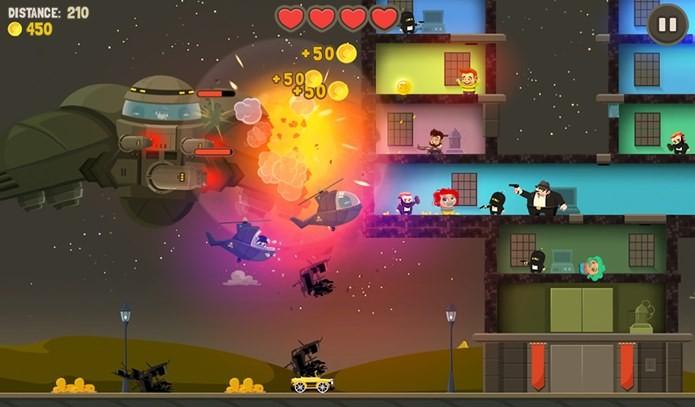 Alienígenas não lhe darão folga neste divertido jogo (Foto: Divulgação)