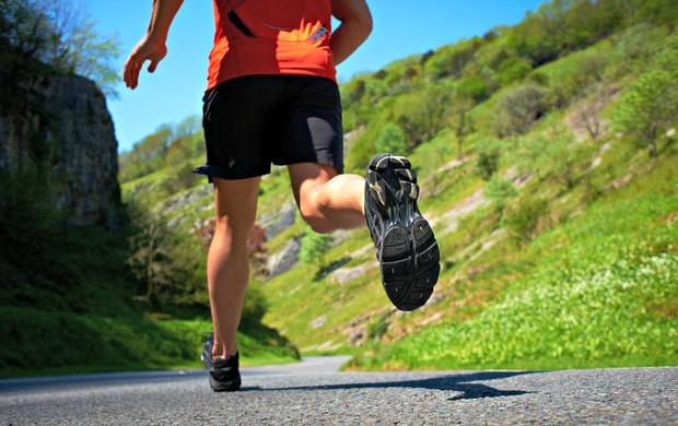 corrida na descida ladeira euatleta (Foto: Getty Images)