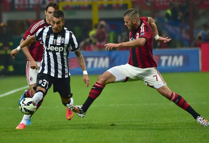 Roberto Pereyra do Juventus x Milan (Foto: AFP)