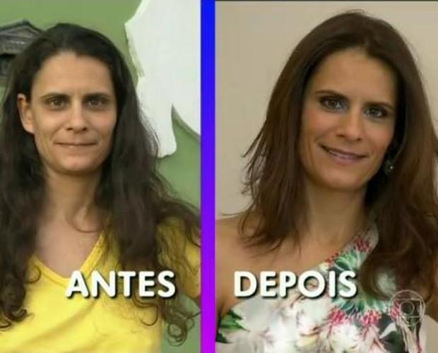 antes e depois transformação você mais poderosa mais você (Foto: Mais Você/ TV Globo)