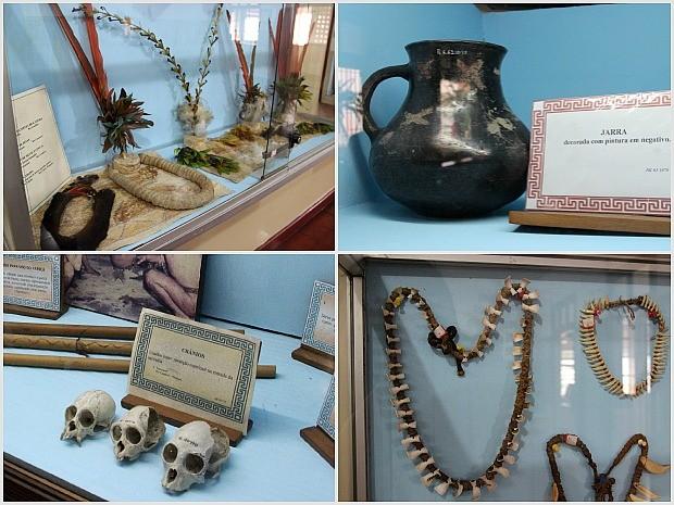 Museu reúne objetos de cinco etnias do Amazonas (Foto: Indiara Bessa/G1 AM)