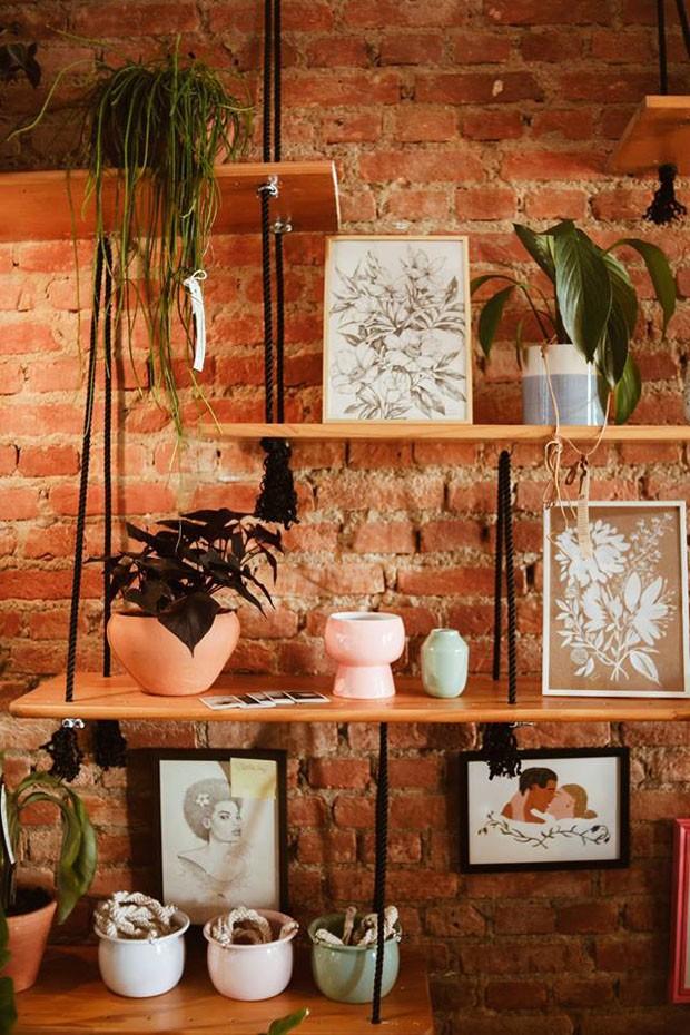Botanista: uma loja que reúne arte feminina e natureza em São Paulo (Foto: Divulgação)