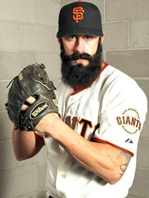 Brian Wilson Beisebol (Foto: Getty Images)