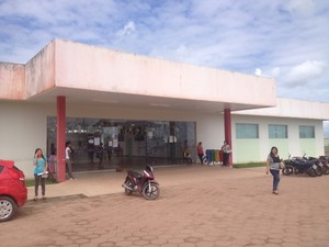 Campus do Ifap em Macapá; um dos locais de prova (Foto: John Pacheco/G1)