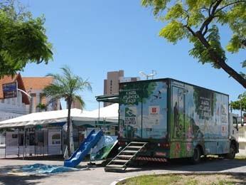 Projeto fica no Recife, entre 3 e 23 de setembro, no Parque Dona Lindu (Foto: Divulgação)