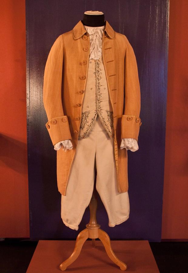 """Figurino de época original do filme """"Barry Lyndon"""", do diretor Stanley Kubrick, que pode ser visto na mostra do MIS (Foto: Divulgação)"""