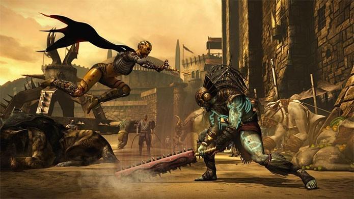 Leve a violenta batalha para o seu PC ou console (Foto: Divulgação/Warner Games)