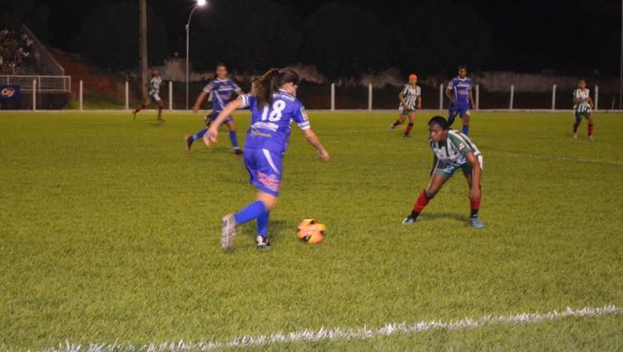 Equipe feminina do Espigão (Foto: Magda Oliveira)