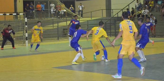 Taça Roraima de Futsal, Constelação x Vivaz (Foto: Nailson Wapichana)