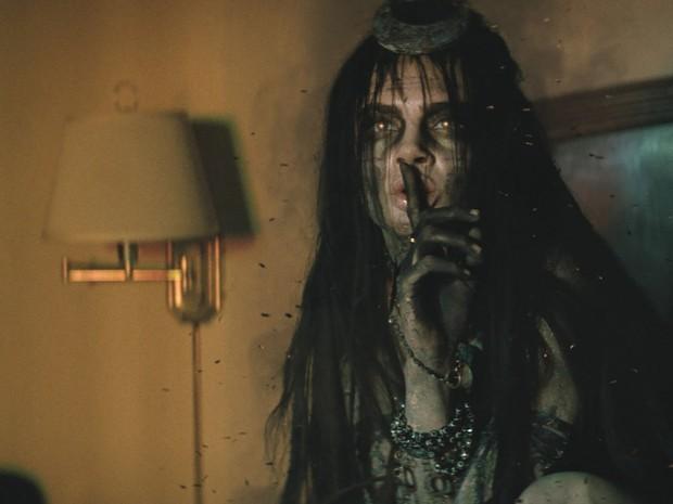 Cara Delevingne em 'Esquadrão Suicida' (Foto: Divulgação)