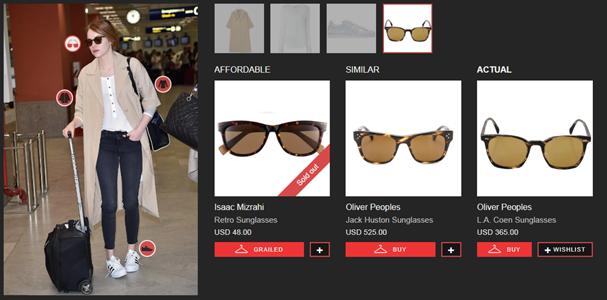 Emma Stone (Foto: reprodução site Look Live)
