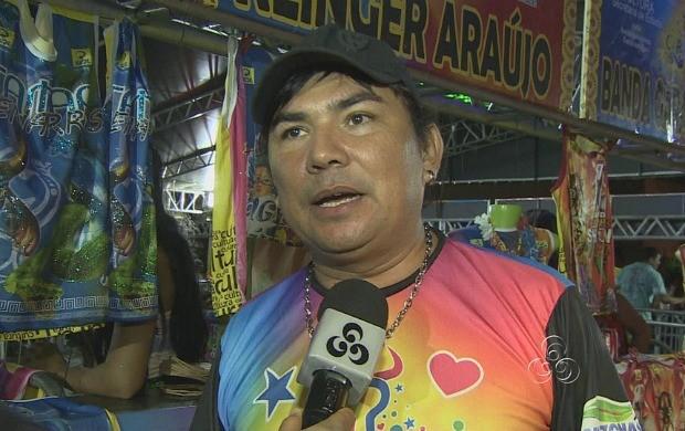 Cantor Klinger Araújo fala sobre a Rede Amazônica voltar a fazer a cobertura do festival (Foto: Amazônia TV)