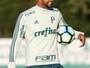 """Em """"intensivão"""", Felipe Melo deve voltar ao Palmeiras antes do previsto"""