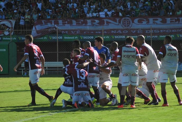Desportiva x Real Noroeste (Foto: Henrique Montovanelli/Desportiva Ferroviária)
