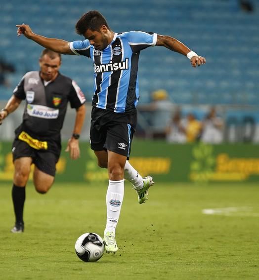 no quase (Lucas Uebel / Grêmio / Divulgação)