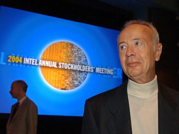 Andy Grove, em imagem de arquivo de 2004 (Foto: Paul Sakuma / Arquivo / AP Photo)